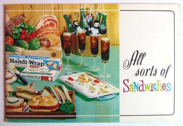 Image for All Sorts of Sandwiches (Handi-Wrap Pepsi-Cola Promotional Cook Book)