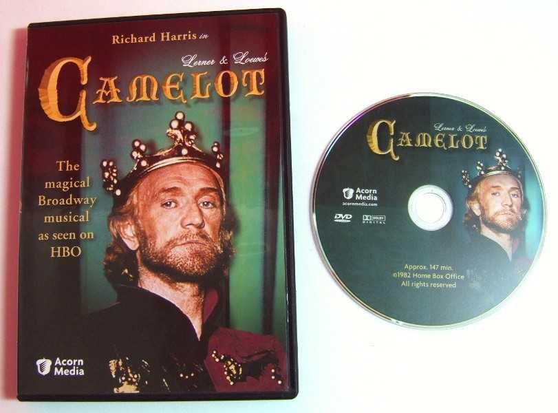 Image for Camelot: Broadway Version [DVD]