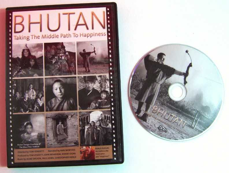 Image for Bhutan: Taking The Middle Path To Happiness [DVD]