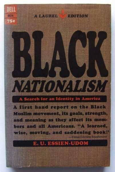 Image for Black Nationalism: A Search for an Identity in America