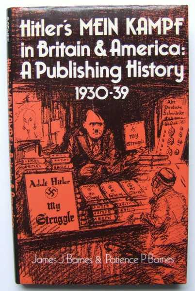 Image for Hitler's Mein Kampf in Britain and America: A Publishing History 1930-39