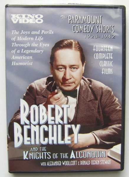 Image for The Paramount Comedy Shorts 1928-1942: Robert Benchley and the Knights of the Algonquin [DVD]