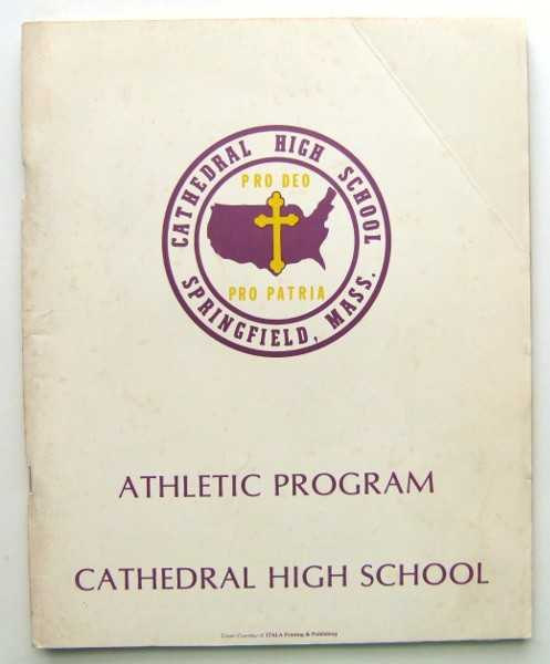 Image for Cathedral High School, New York City, Athletic Program Yearbook 1977