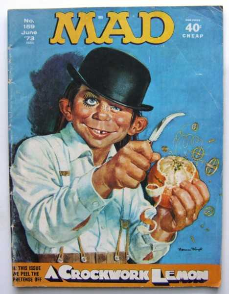 Image for MAD Magazine, No. 159 (June, 1973)