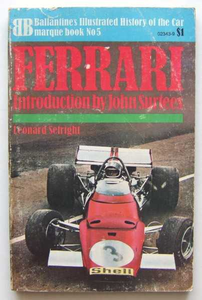 Image for Ferrari (Ballantine Illustrated History of the Car, Marquee Book No. 5)