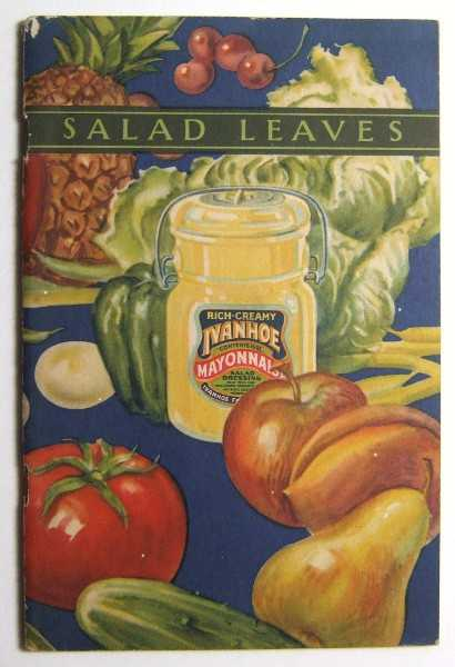 Image for Salad Leaves or Letters to a Daughter in the City (Promotional Cook Book)