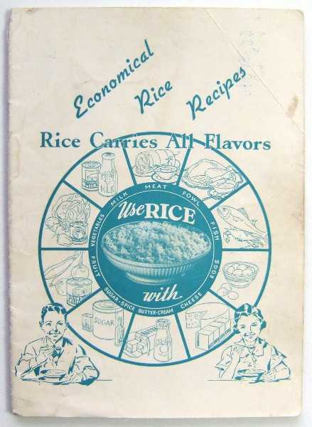 Image for Economical Rice Recipes: Rice Carries All Flavors (Promotional Cook Book)