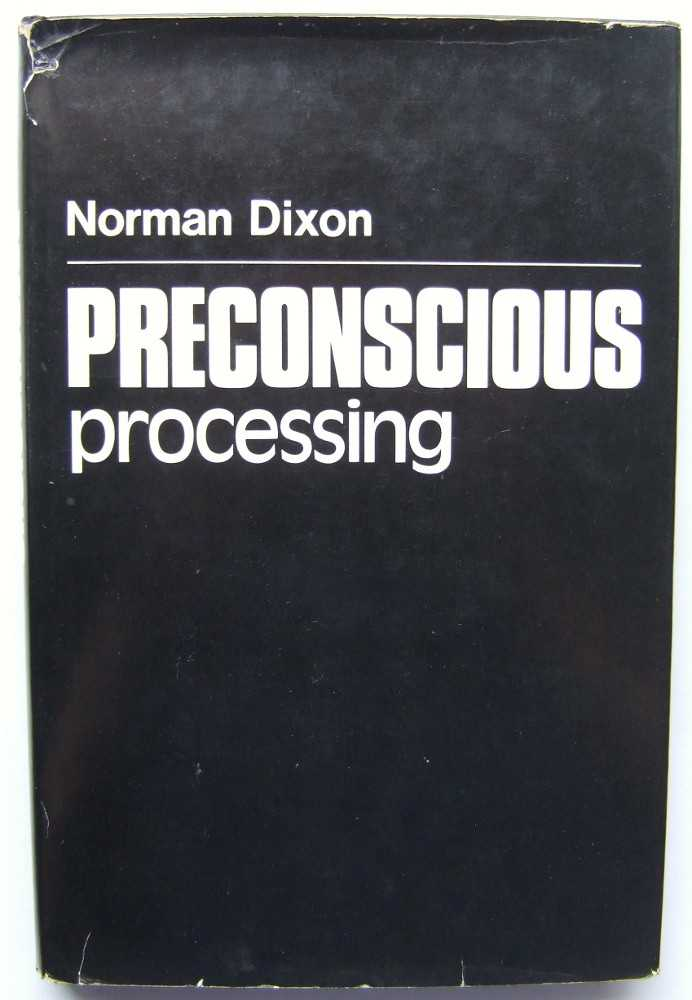 Image for Preconscious Processing