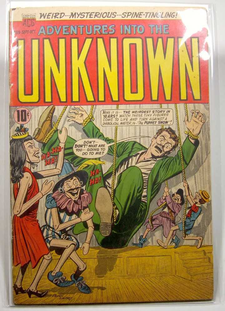Image for Adventures into the Unknown #59