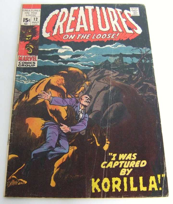 Image for Creatures on the Loose #12