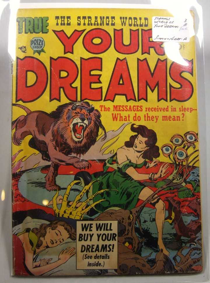 Image for The Strange World of Your Dreams #3