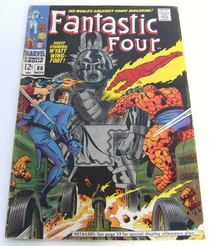 Image for Fantastic Four #80