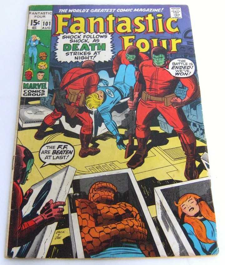 Image for Fantastic Four #101