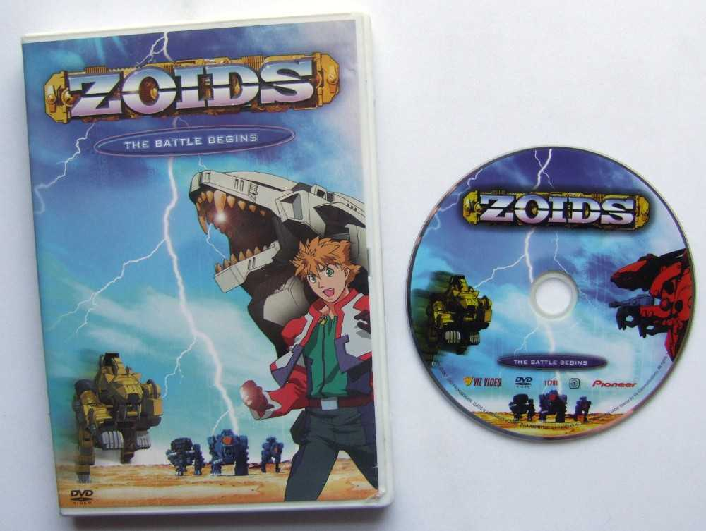 Image for Zoids - The Battle Begins (Vol. 1)