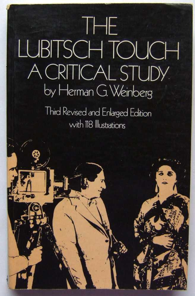 Image for The Lubitsch Touch: A Critical Study