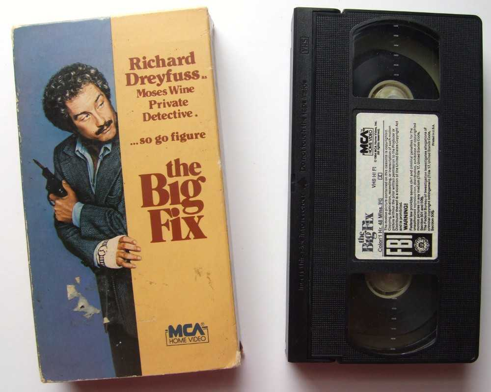 Image for The Big Fix [VHS]