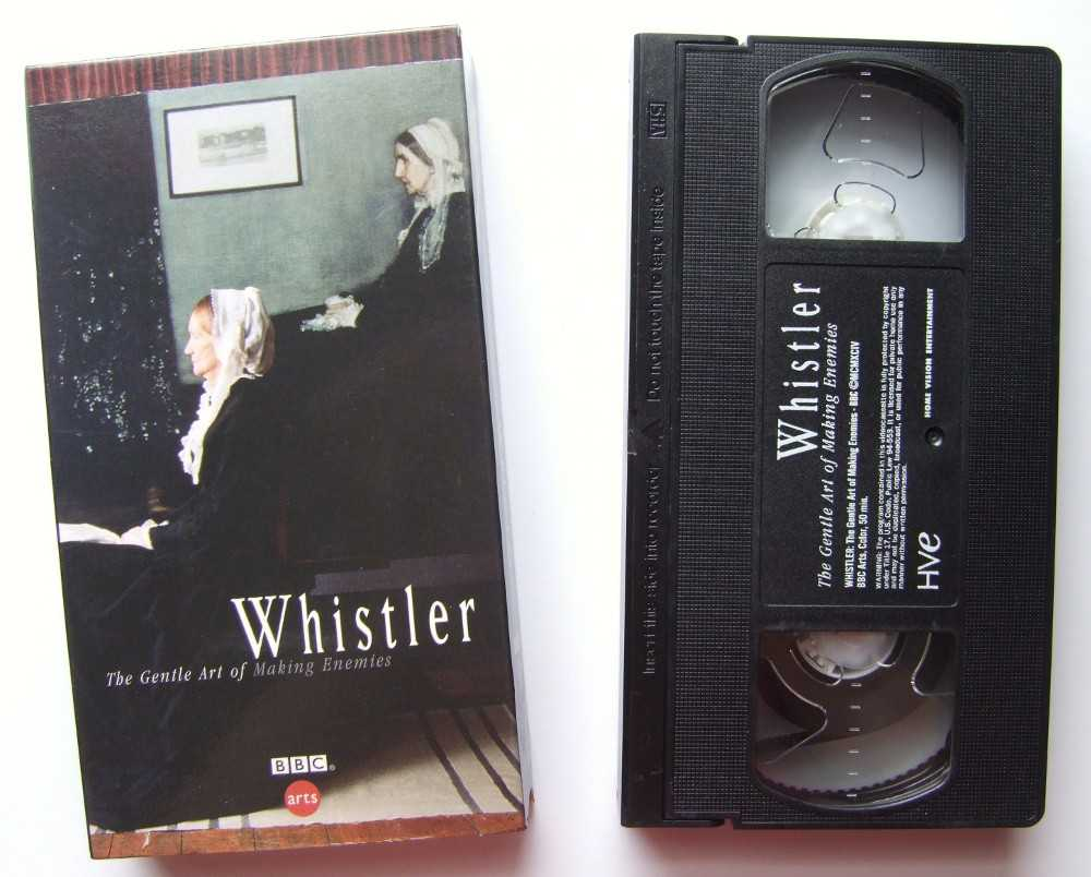 Image for Whistler - The Gentle Art of Making Enemies [VHS]
