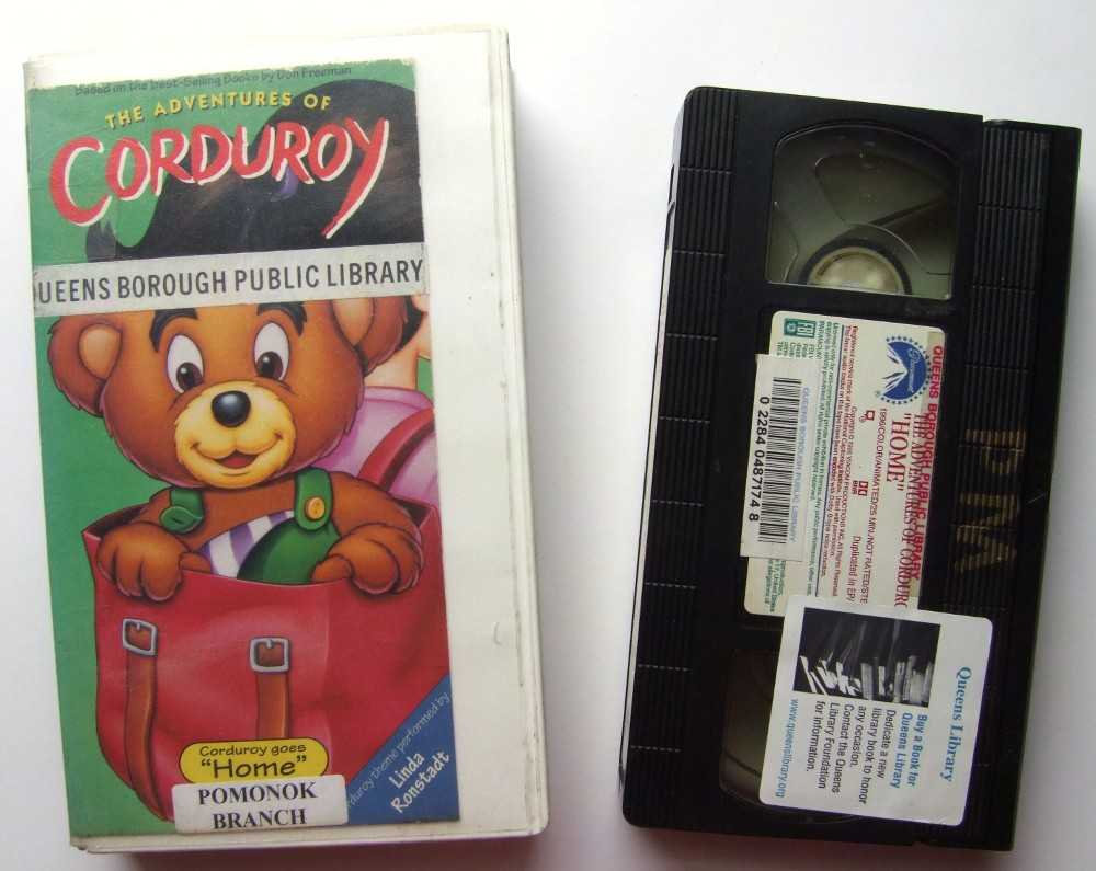 Image for The Adventures of Corduroy: Home [VHS]