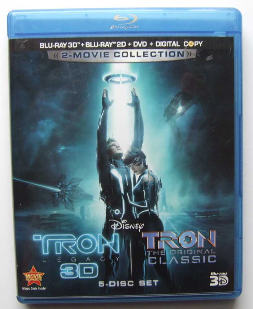 Image for Tron: Legacy / Tron: The Original Classic Blu-Ray 3D + Blu-Ray 2D + DVD + Digital Copy