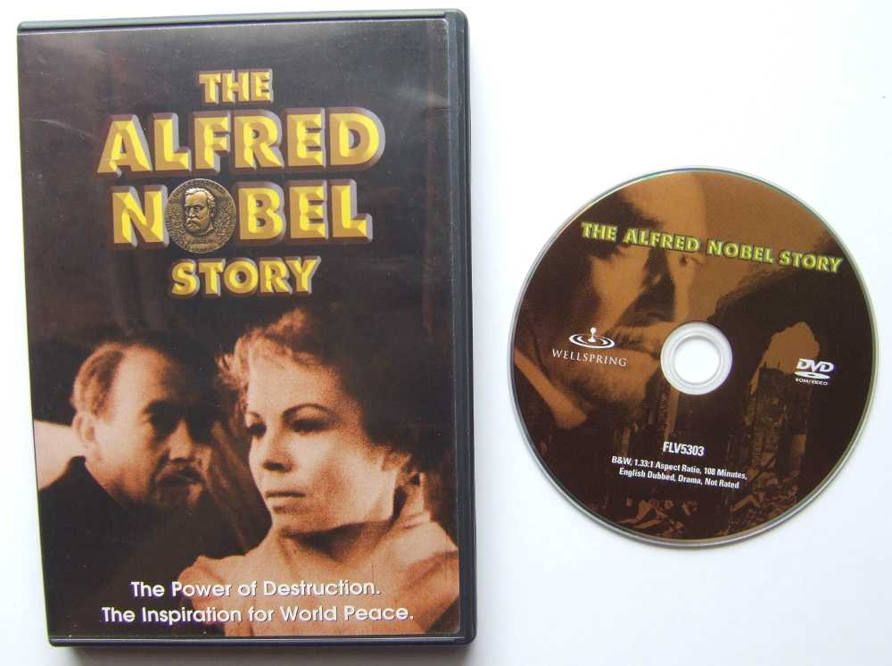 Image for The Alfred Nobel Story [DVD]
