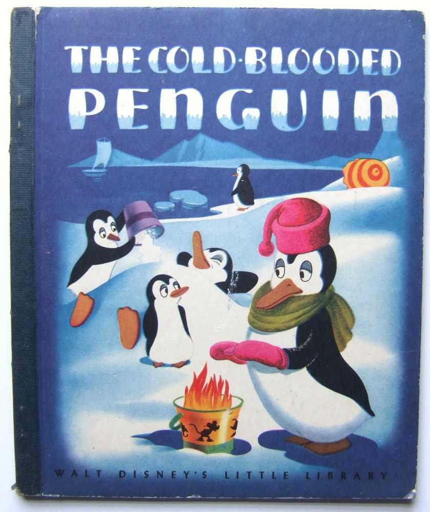 Image for The Cold-Blooded Penguin (Walt Disney's Little Library)