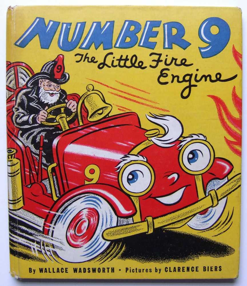Image for Number 9: The Little Fire Engine