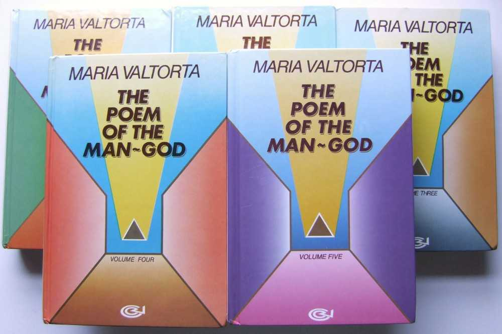 Image for The Poem of the Man-God (Five Volumes)
