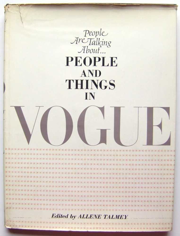 Image for People Are Talking About...People and Things in Vogue
