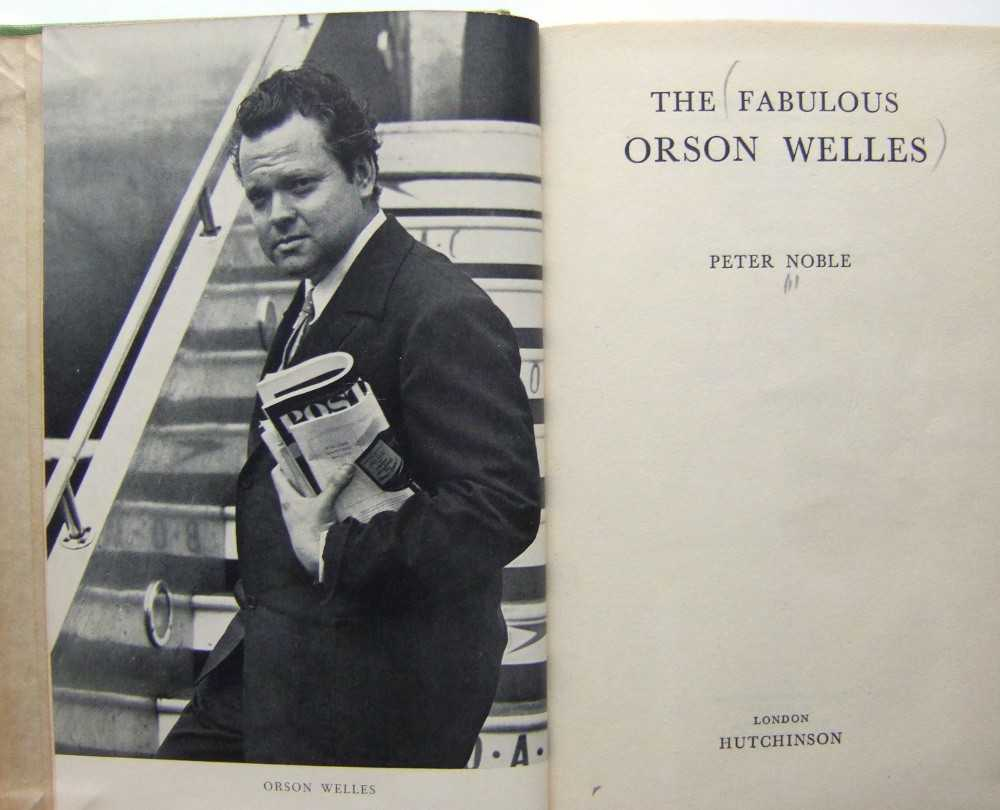 Image for The Fabulous Orson Welles
