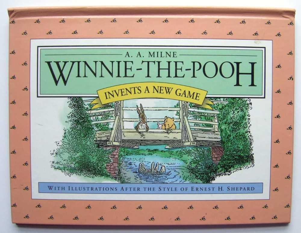 Image for Winnie-The-Pooh Invents a New Game (Pop-up)