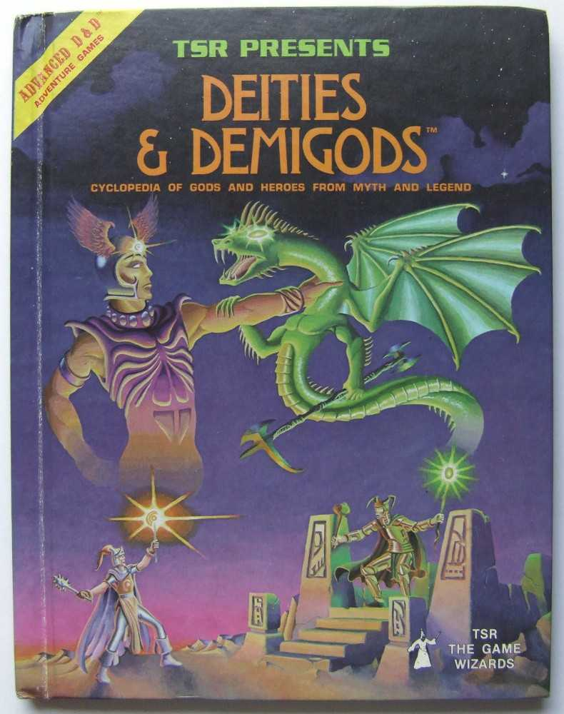 Image for Deities & Demigods: Cylopedia of Gods and Heroes From Myth and Legend (Advanced Dungeons & Dragons)