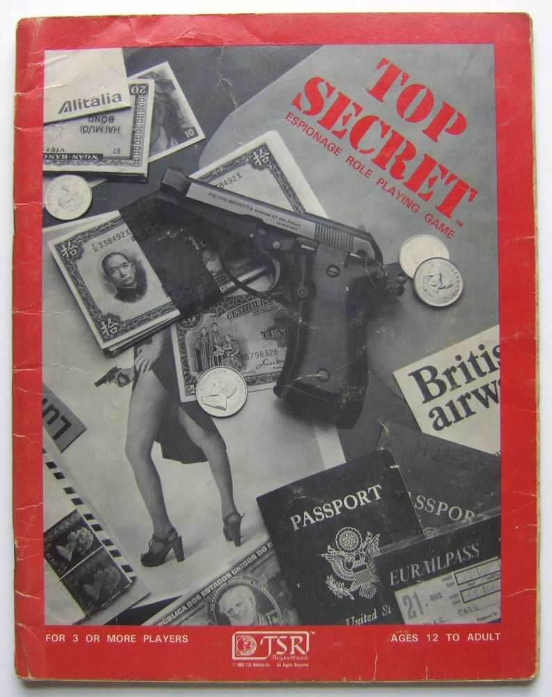 Image for Top Secret: Espionage Role-Playing Game