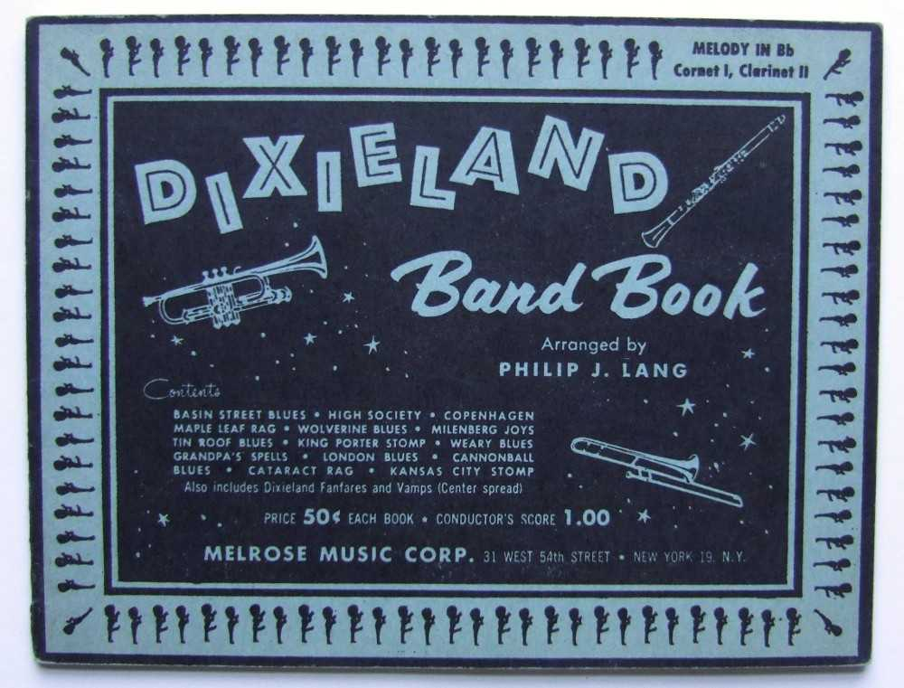 Image for Dixieland Band Book