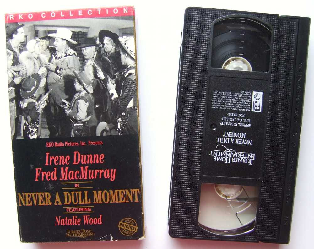Image for Never a Dull Moment [VHS]