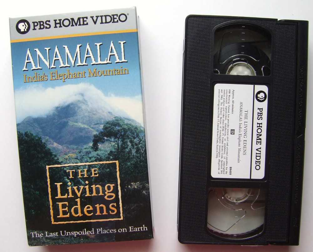 Image for Living Edens - Anamalai - India's Elephant Mountain [VHS]