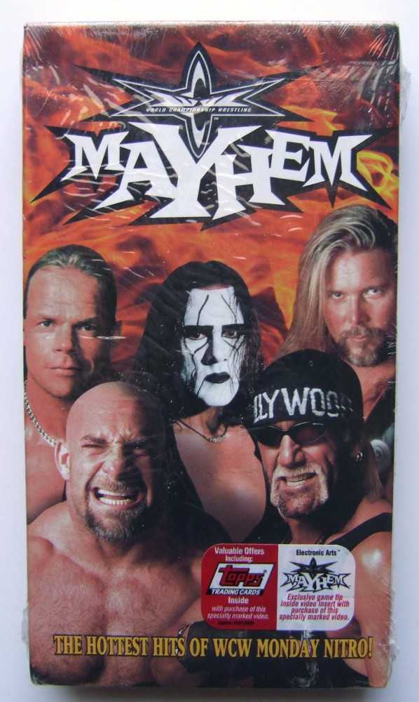 Image for WCW Mayhem [VHS]