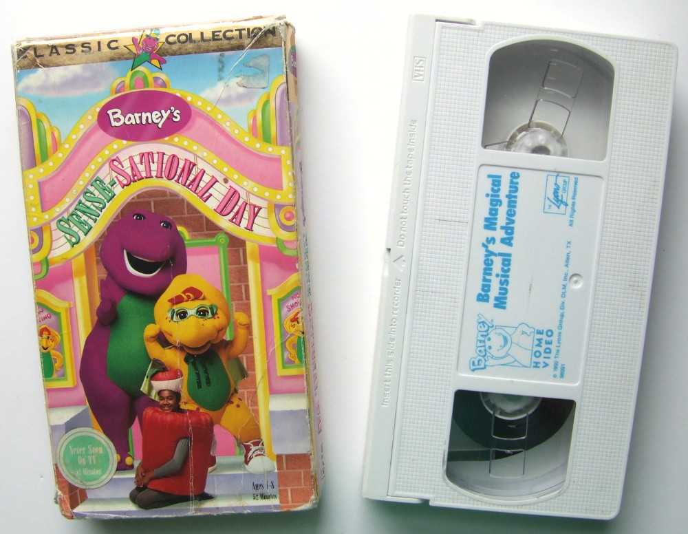 Image for Barney's Sense Sational Day [VHS]