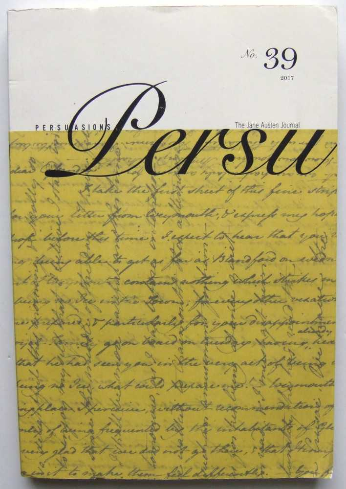Image for Persuasions: The Jane Austen Journal, No. 39