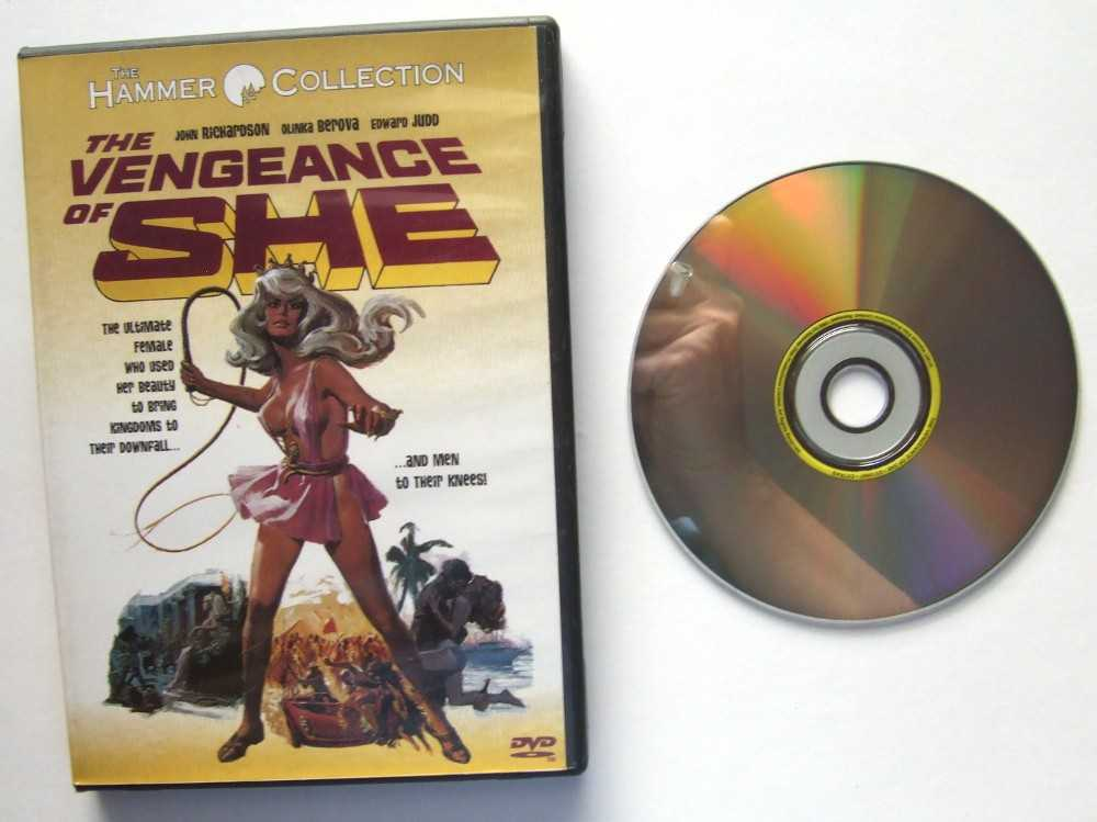 Image for The Vengeance of She [DVD]