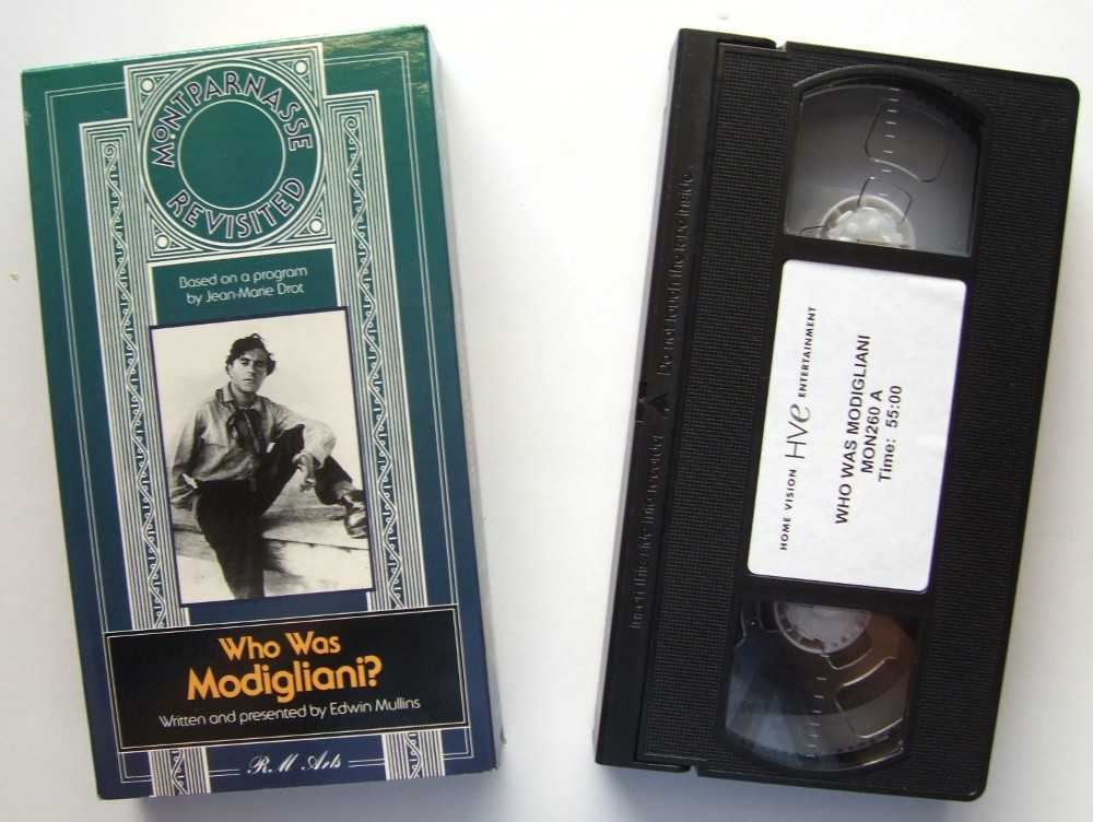 Image for Who Was Modigliani? [VHS]
