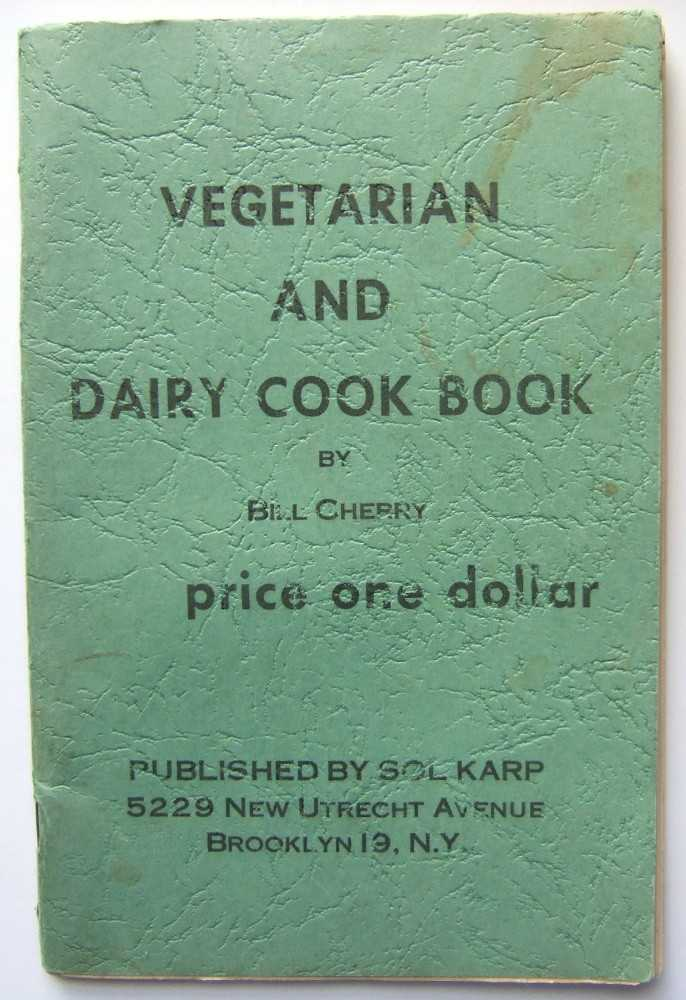 Image for Vegetarian and Dairy Cook Book