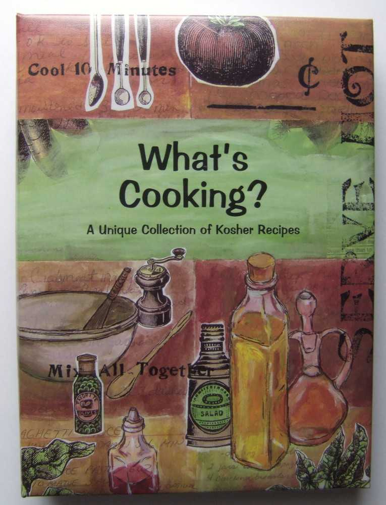 Image for What's Cooking: A Unique Collection of Kosher Recipes (Jewish Cooking)