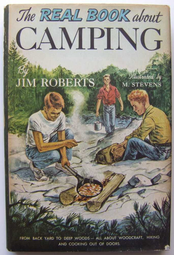 Image for The Real Book About Camping