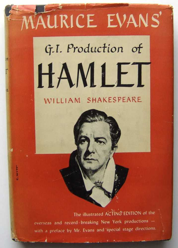 Image for Maurice Evans' G.I. Production of Hamlet