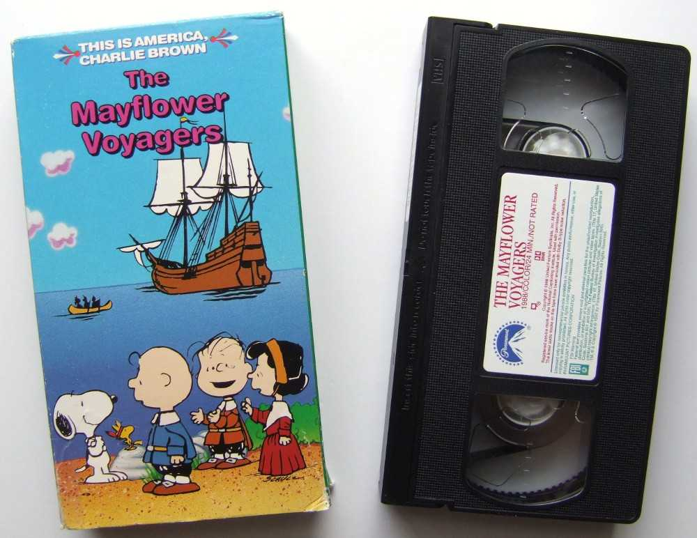 Image for The Mayflower Voyagers This Is America, Charlie Brown [VHS]