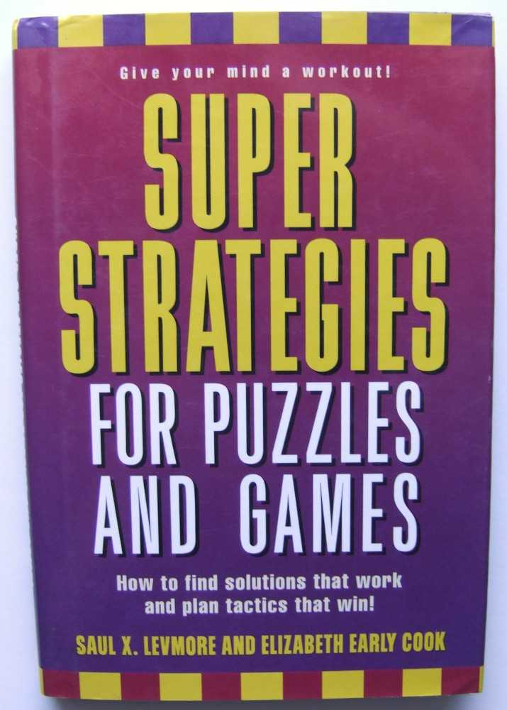 Image for Super Strategies for Puzzles and Games