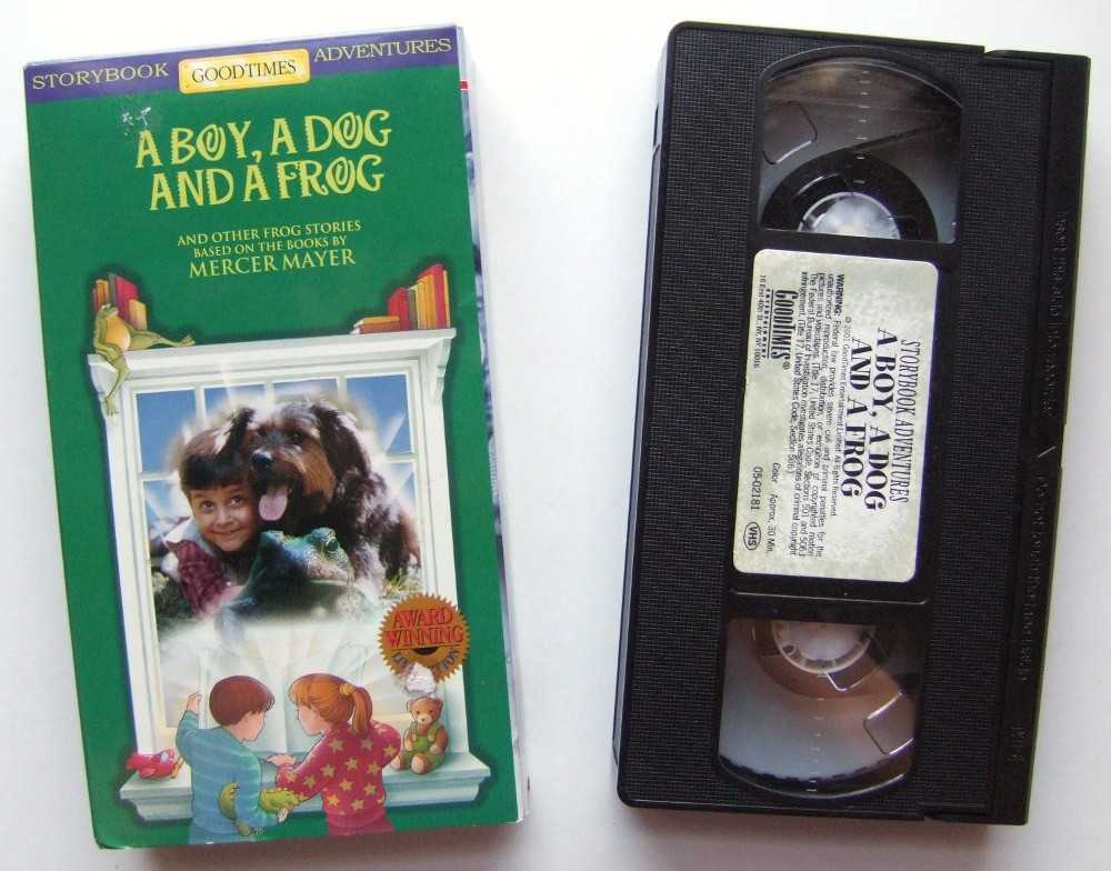 Image for A Boy, A Dog and a Frog [VHS]