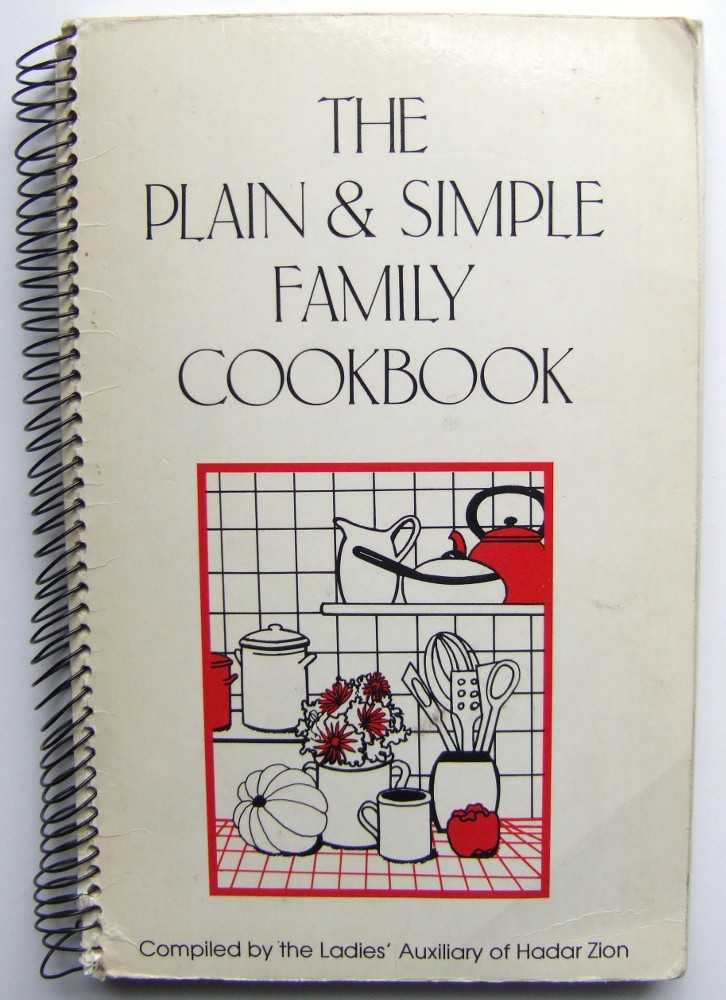 Image for The Plain & Simple Family Cookbook (Community Cookbook)