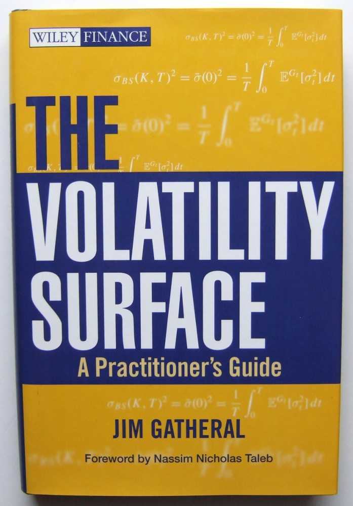 Image for The Volatility Surface: A Practitioner's Guide