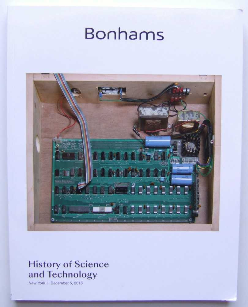 Image for History of Science and Technology (Bonhams, New York, December 5, 2018)